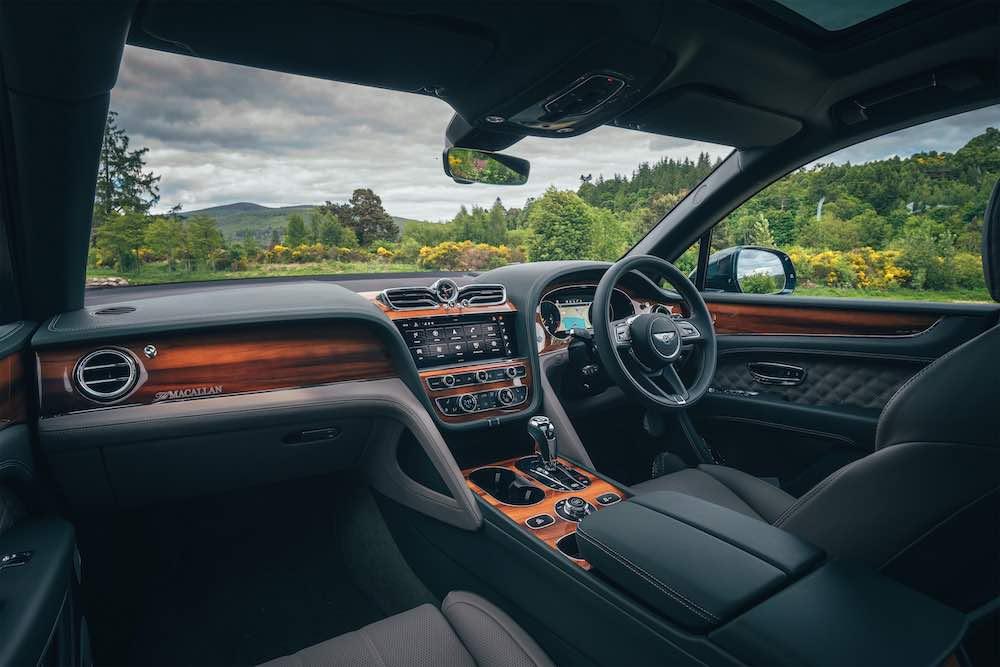 Un exclusivo Bentley para The Macallan Estate