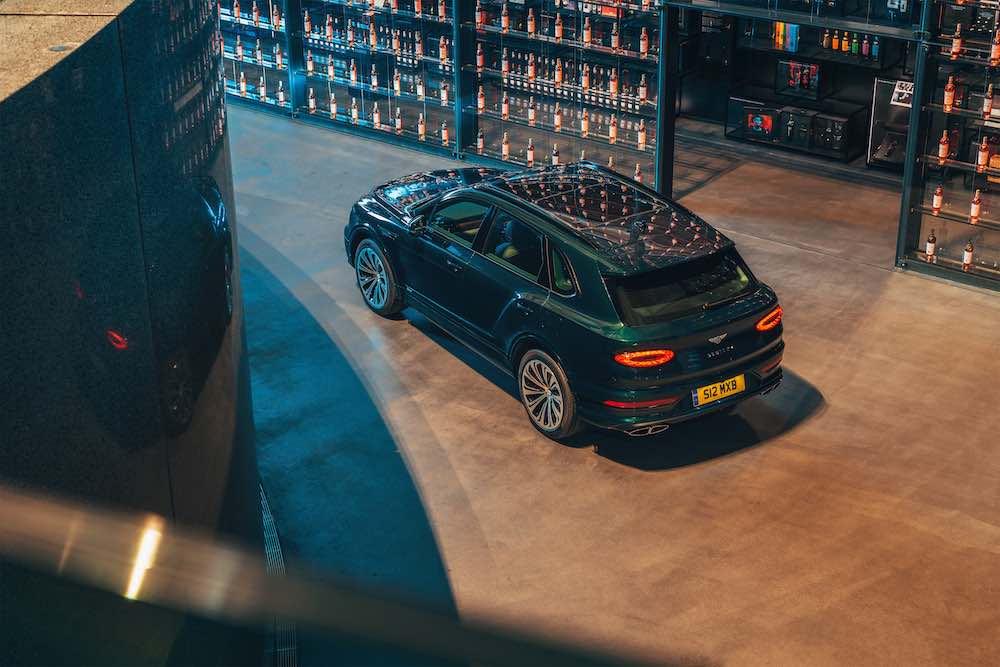 Un exclusivo Bentley Bentayga Hybrid para The Macallan Estate
