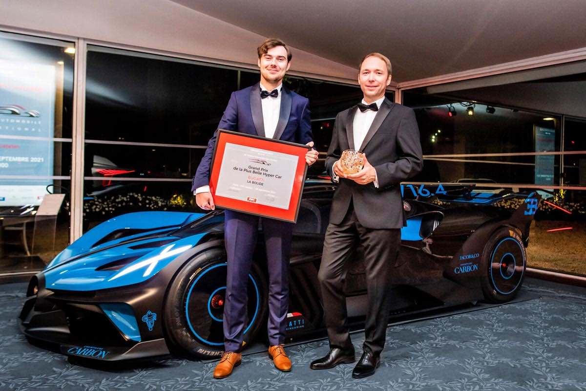 El Bugatti Bolide es el híperdeportivo más hermoso del mundo, según expertos en diseño