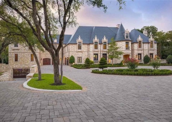 Casa de inspiración francesa en Dallas