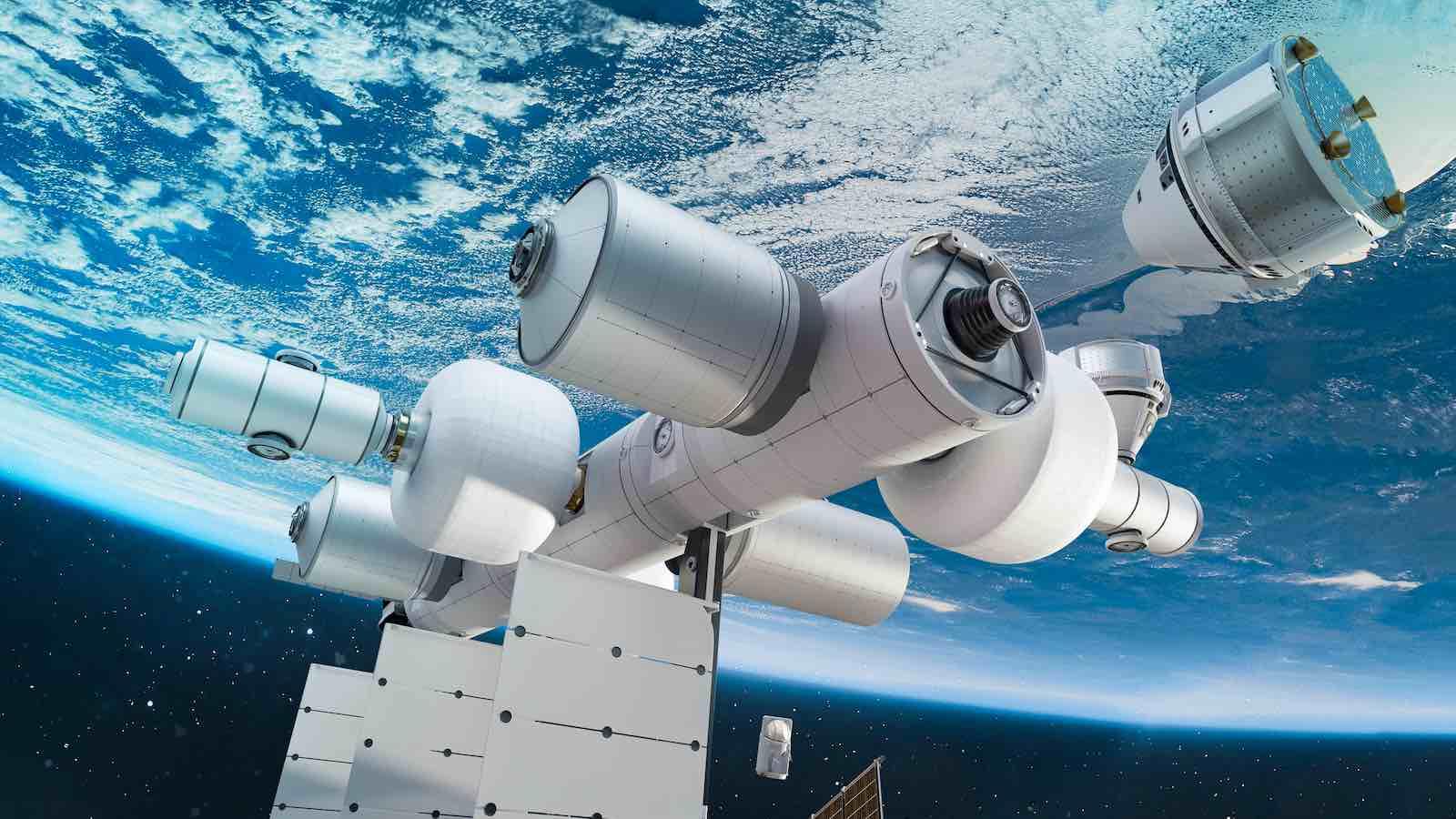 Jeff Bezos anunció sus planes de construir la estación espacial privada Orbital Reef; además de acoger a turistas ricos también servirá como centro de negocios