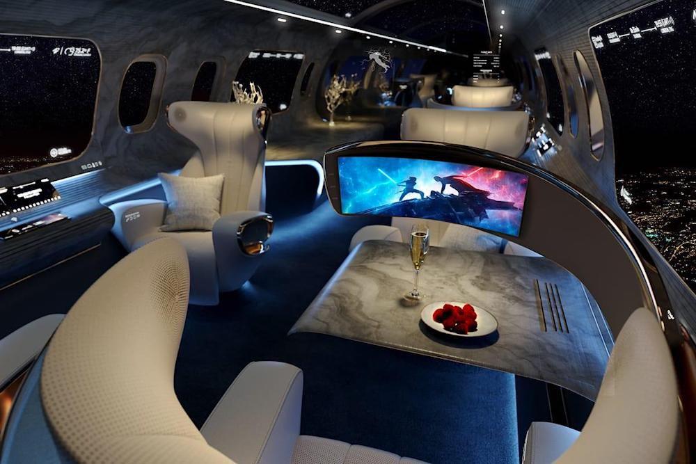 The Maverick Project: esta podría ser la cabina del jet privado del futuro