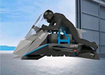 La moto voladora Speeder de 150 mph de Jetpack Aviation saldrá a la venta en 2023 por 380.000 dólares