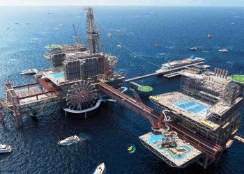 The Rig, el parque de atracciones flotante en Arabia Saudí