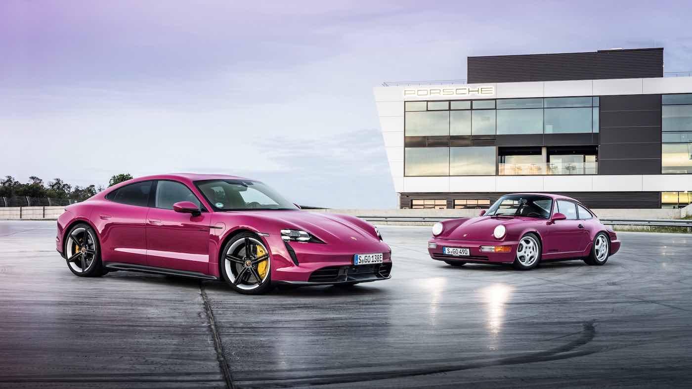 El Porsche Taycan y el Taycan Cross Turismo