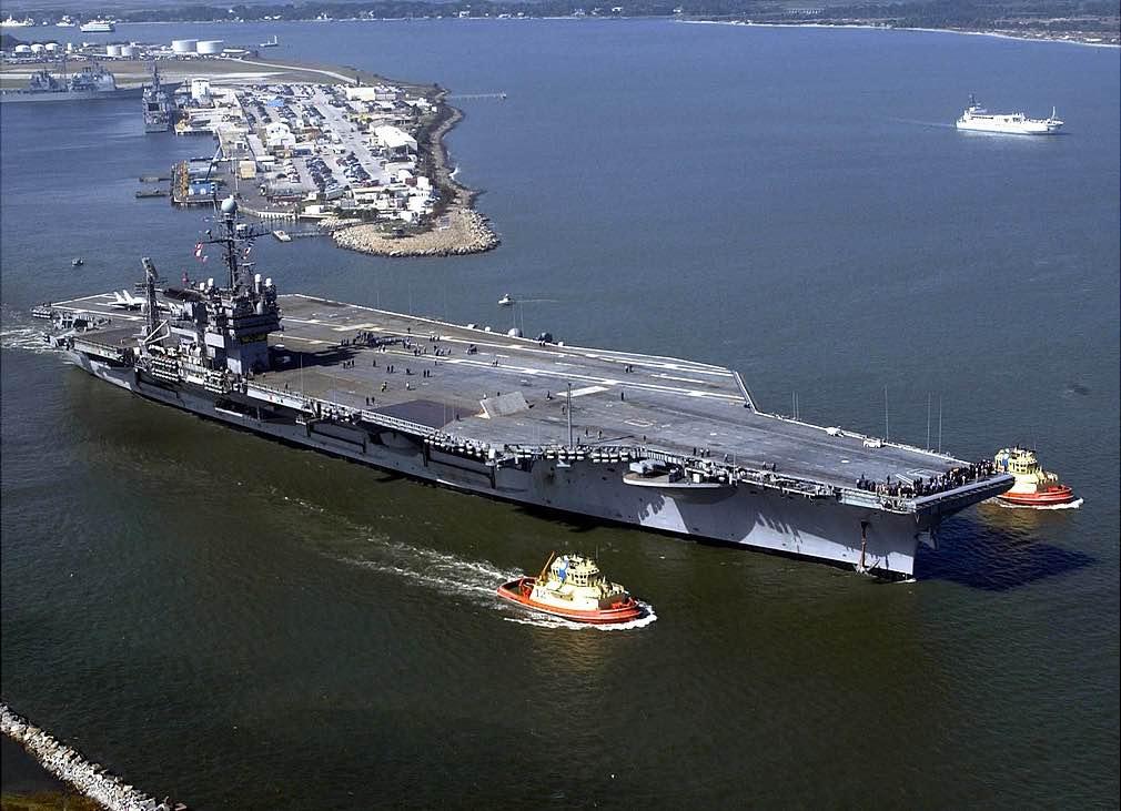 portaaviones USS John F. Kennedy
