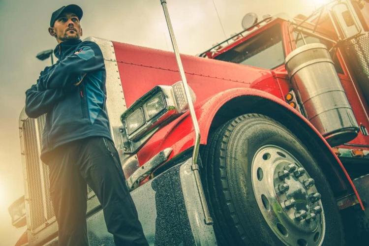 Camionero en Estados Unidos
