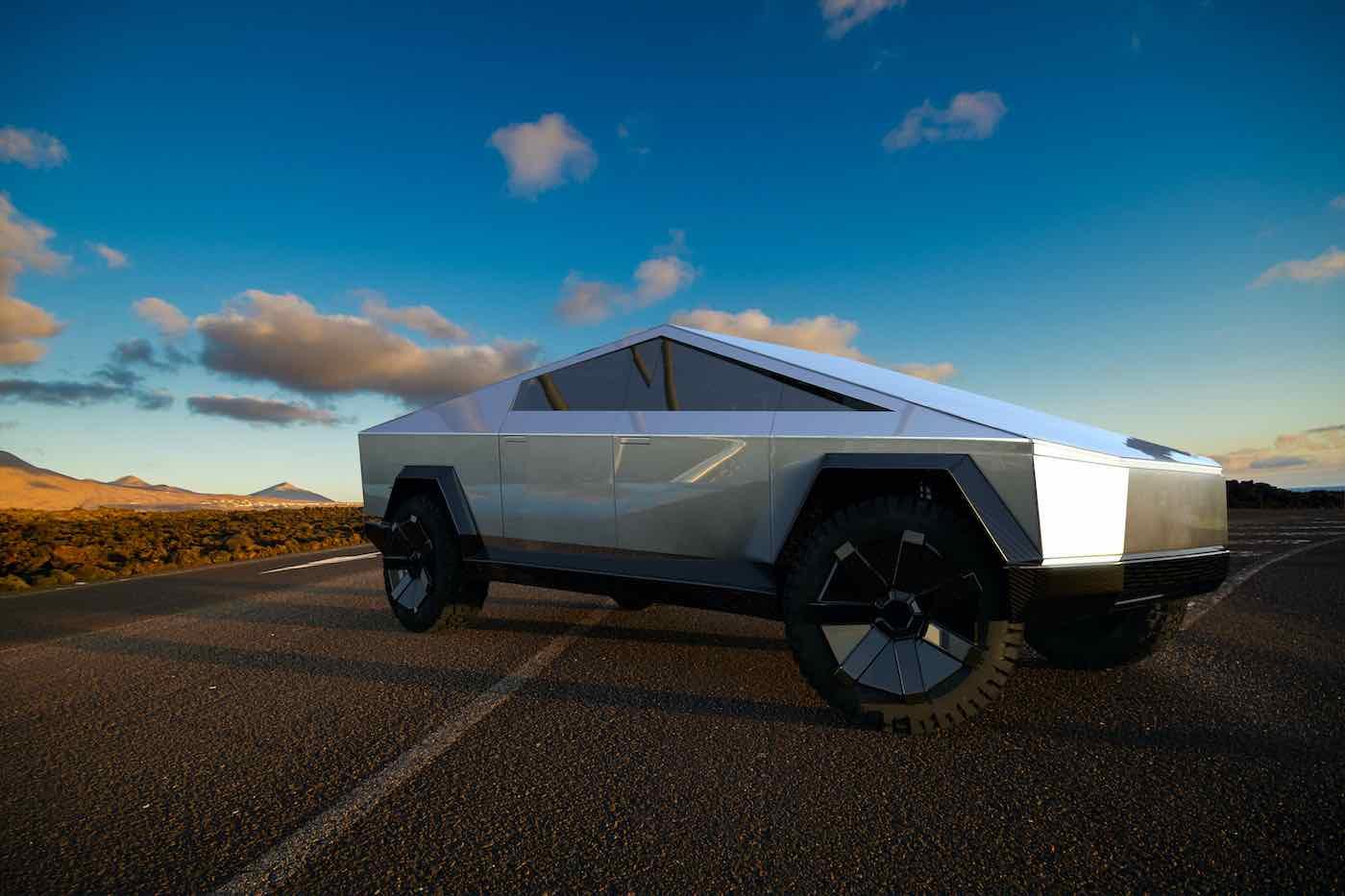 Camioneta Cybertruck de Tesla