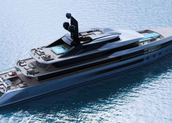 Tankoa Yachts presenta el nuevo concepto de superyate T760 Apache de 76 metros
