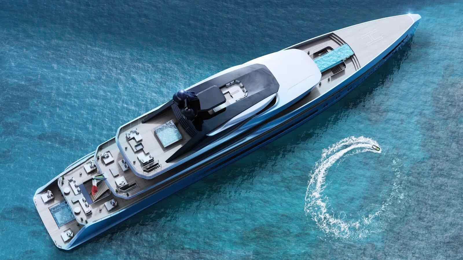 Tankoa Yachts presenta el nuevo concepto de 76 metros