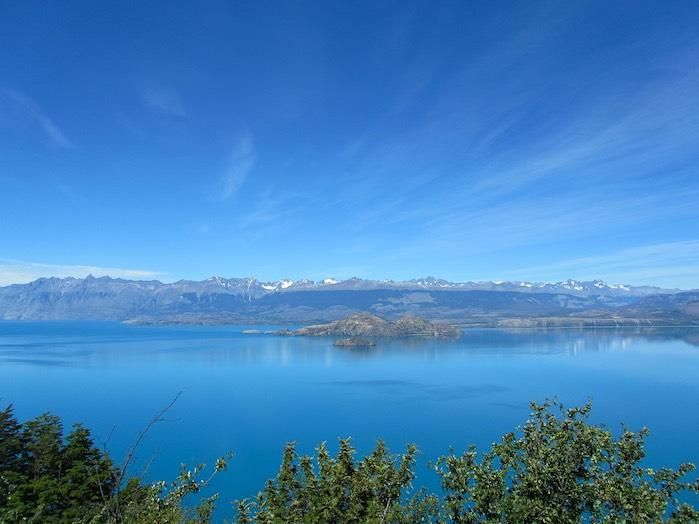 Lago General Carrera o Lago Buenos Aires, América del Sur
