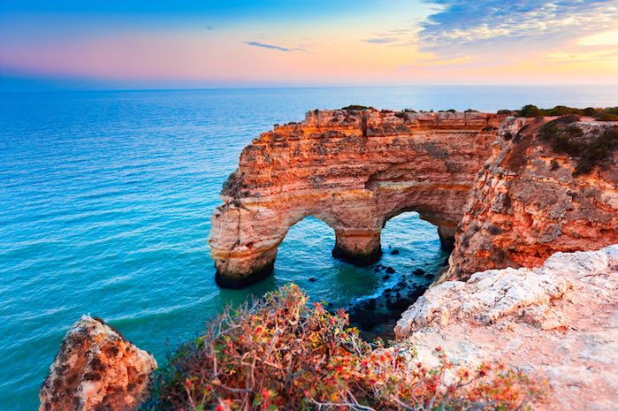 Arco del corazón del mar, Portugal