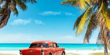 Playa de Varadero en Cuba