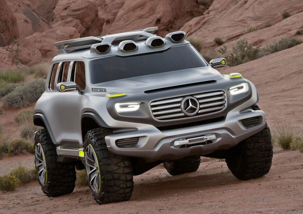 ENER-G-Force 2025: Visión de una todoterreno Mercedes-Benz que refleja las aventuras Off-roads del mañana