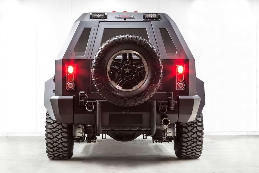 Camioneta SUV USSV Rhino GX: Seguridad, Lujo & Confort