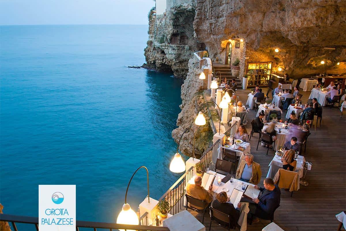 Grotta Palazzese, el #9 de los restaurantes más inusuales en el mundo.