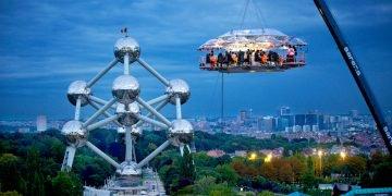 Dinner In The Sky en Bruselas