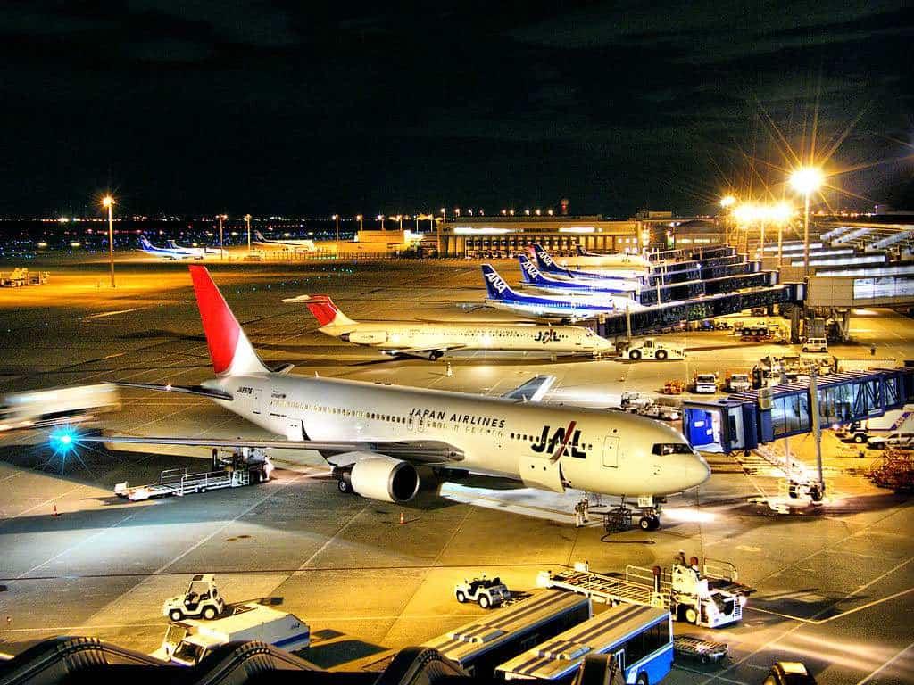 Aeropuerto Internacional Chubu Centrair en Nagoya, Japón