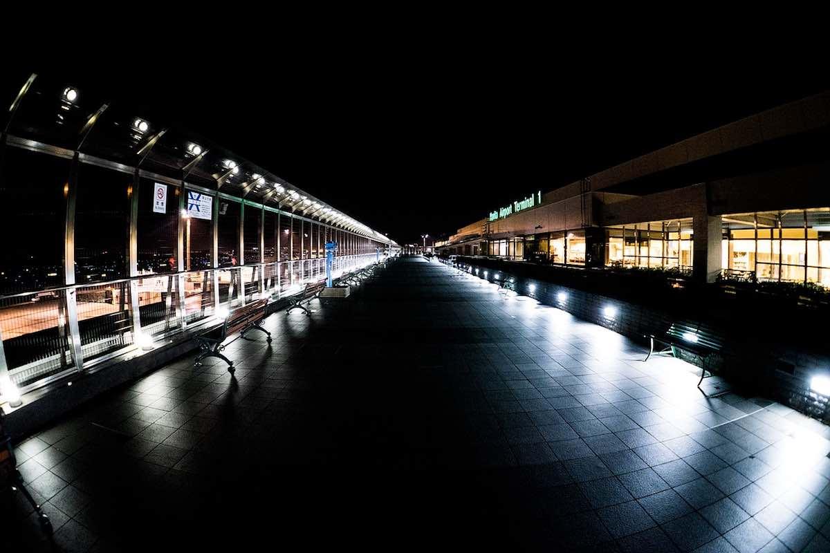 Aeropuerto Internacional de Narita en Tokio, Japón