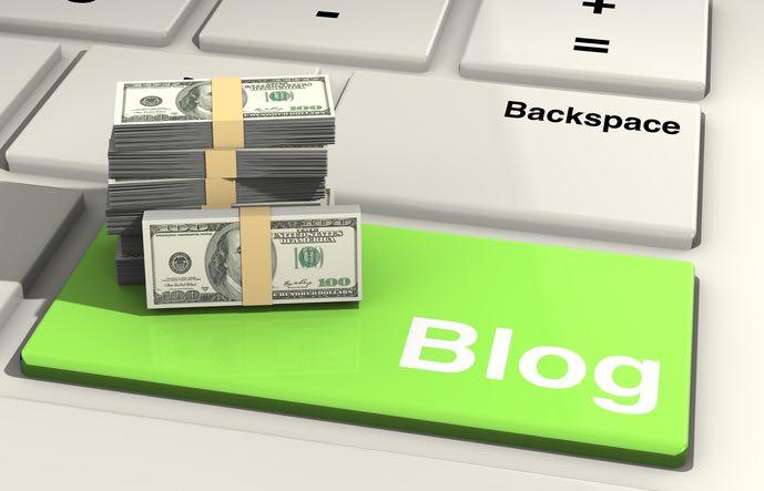 Gana dinero con los blogs. Ordenador portátil