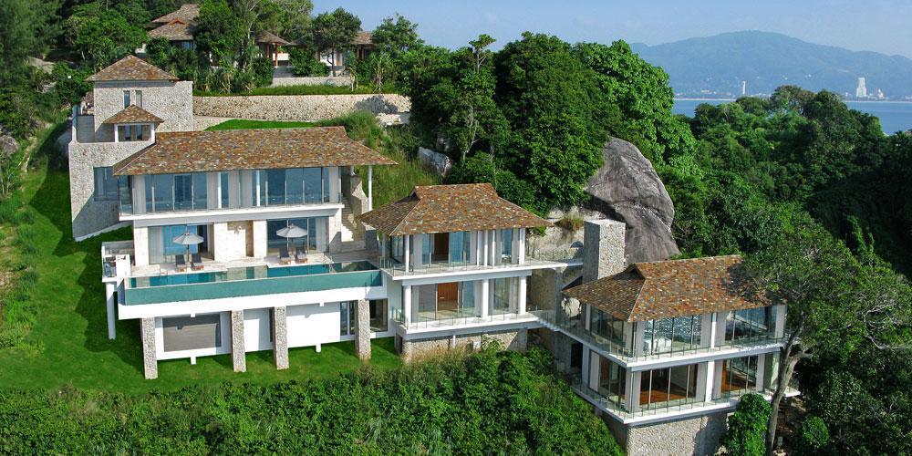 VILLA MINH: Una mega espectacular villa de vacaciones frente al mar en Phuket, Tailandia