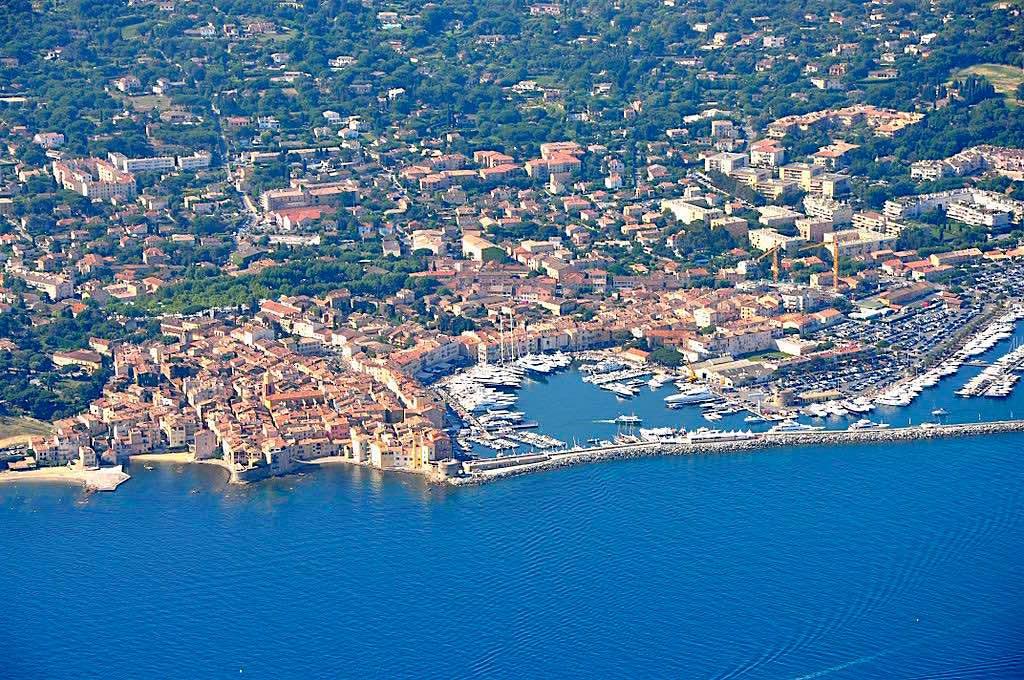 Puerto de Saint-Tropez, Francia