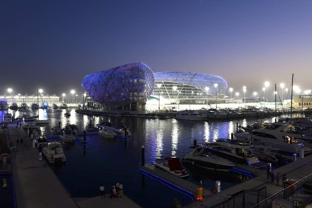 Yas Marina Abu Dhabi, Emiratos Árabes Unidos