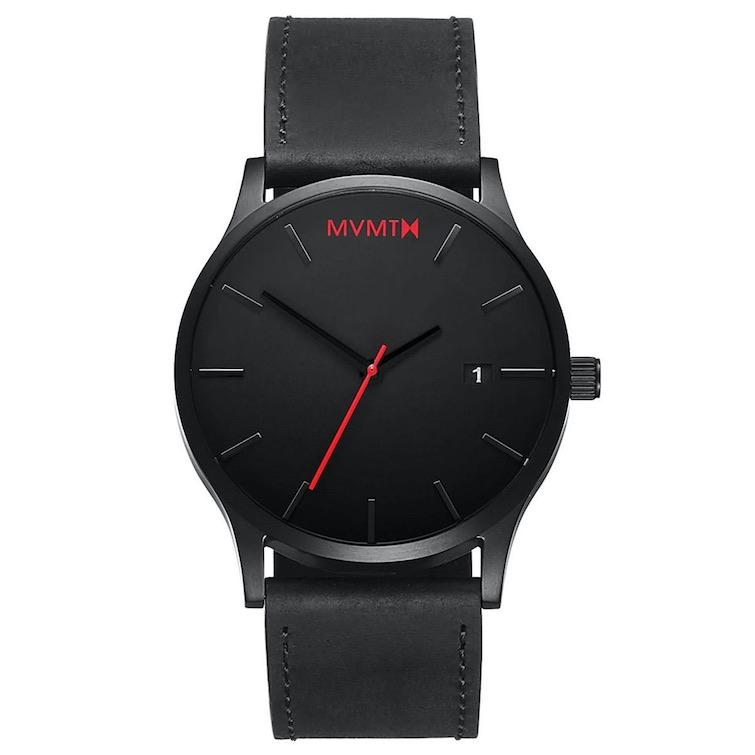 Relojes de hombre: MVMT Classic Black Leather