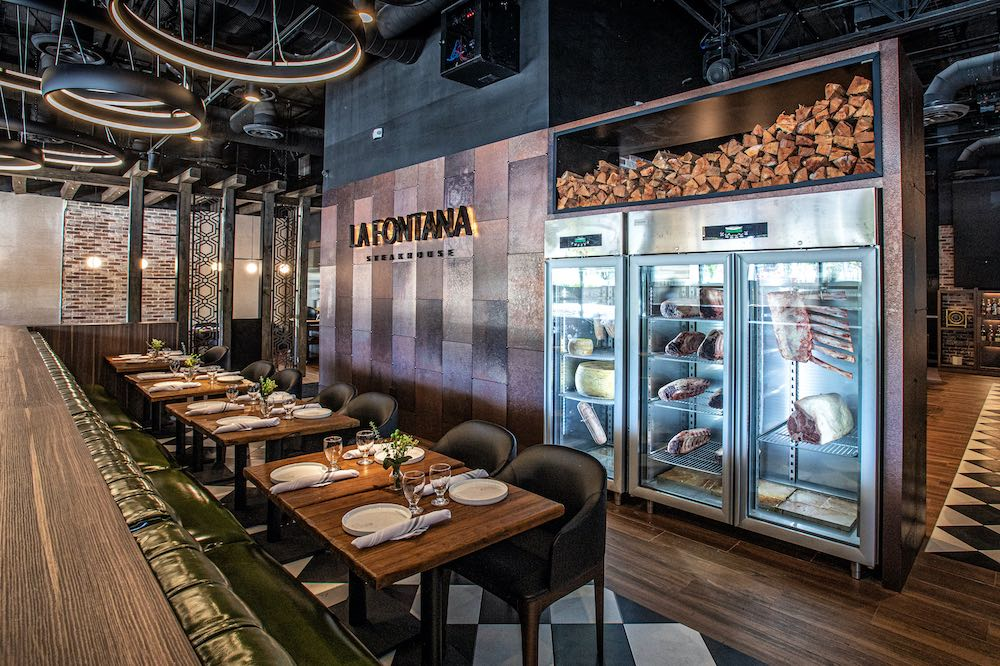 Restaurante Italiano/Latino: La Fontana Steakhouse
