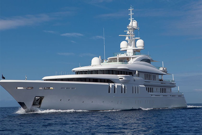 Talisman C: La evolución de un mega yate familiar diseñado por H2 Yacht Design