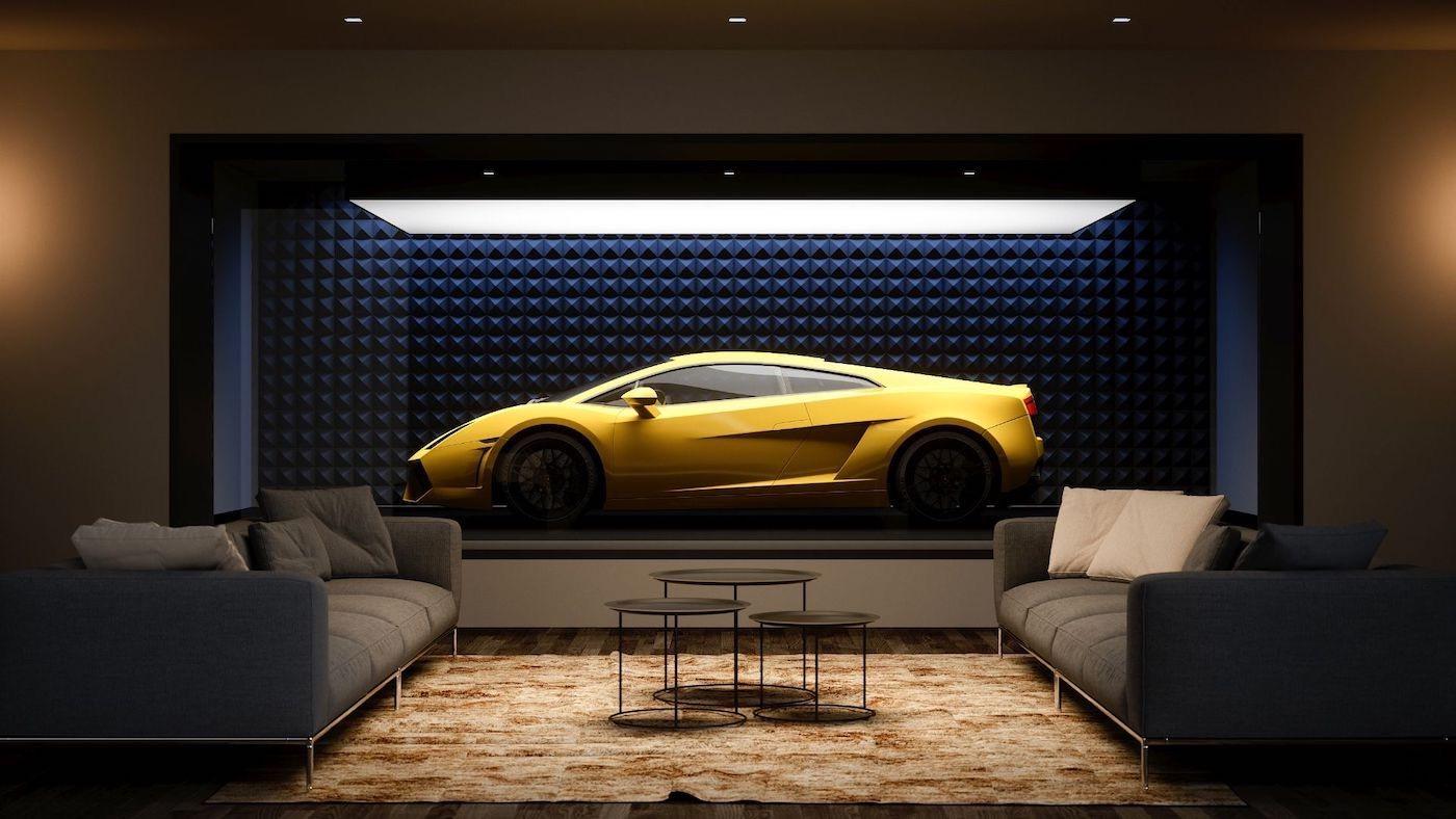 Ahora podrás exhibir tus superdeportivos como obra de artes en estas alucinante cochera para autos de lujo.