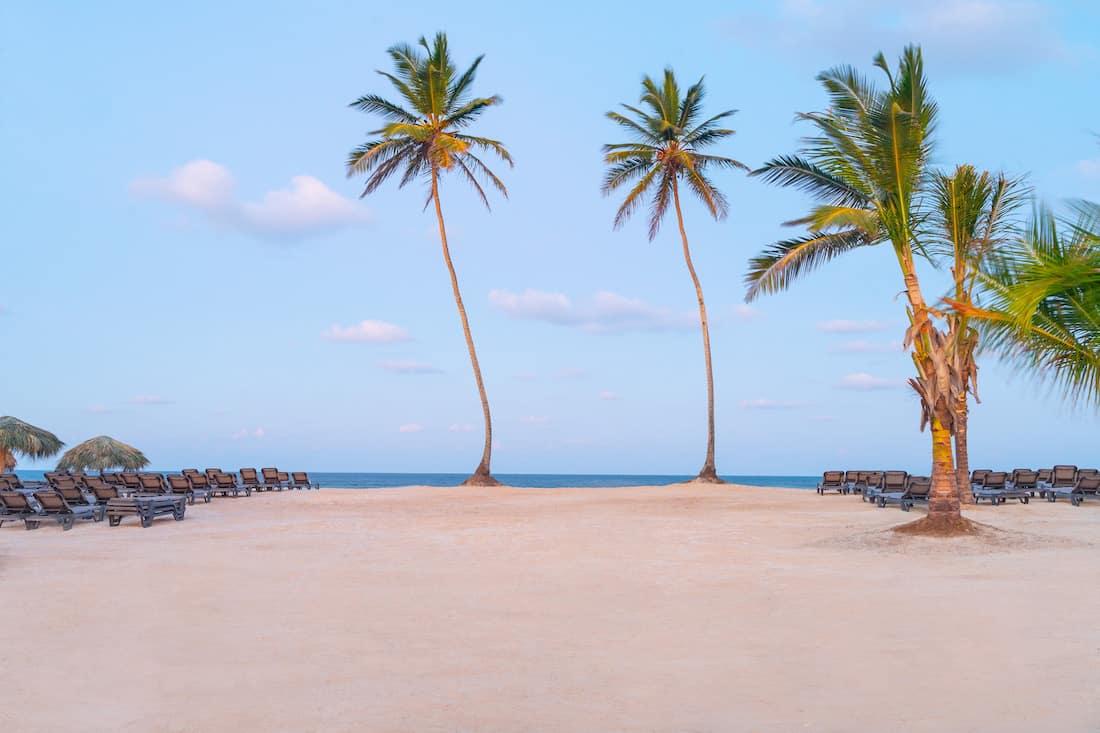Playas de aguas cristalinas en Punta Cana