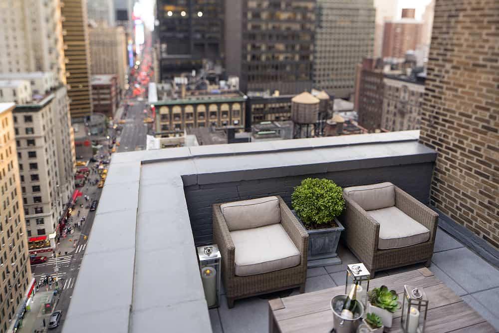 El rooftop de Westhouse Hotel