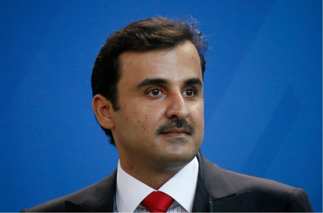 El actual emir de Qatar Tamim bin Hamad Al Thani