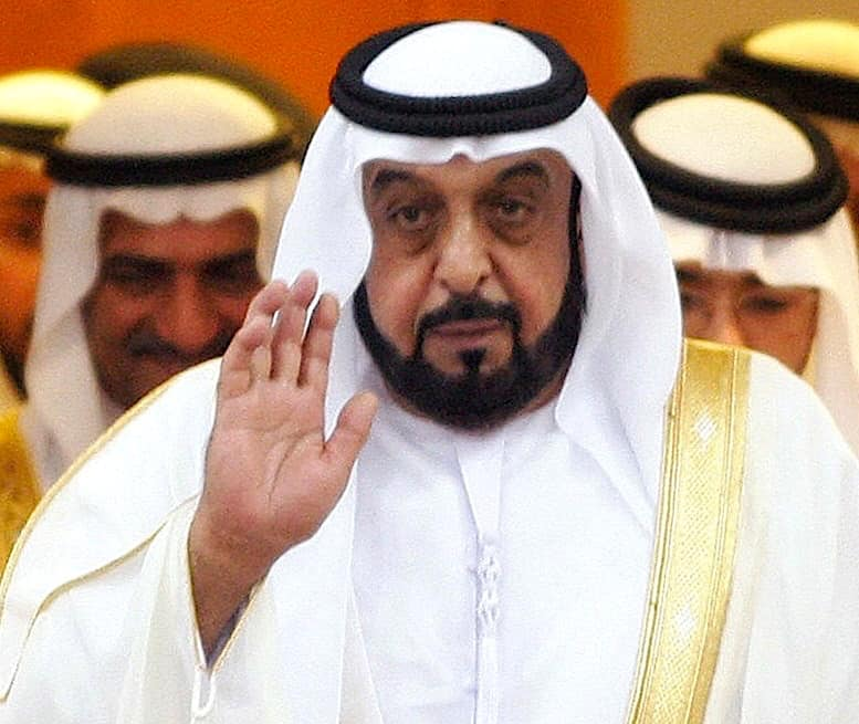 Presidente de los Emiratos Árabes Unidos: Jalifa bin Zayed Al Nahayan