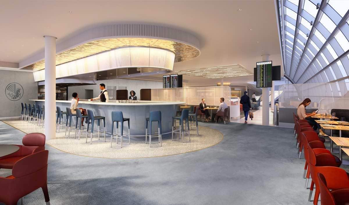 Diseñado por Jouin Manku en la terminal 2F del aeropuerto París-Charles de Gaulle