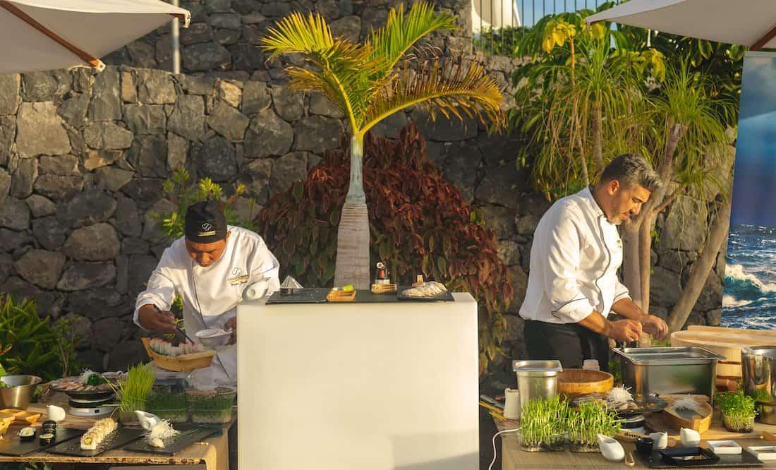 Las Terrazas de Abama acoge la presentación de la 'Gran Lubina Atlántica Aquanaria' a los hosteleros de Tenerife