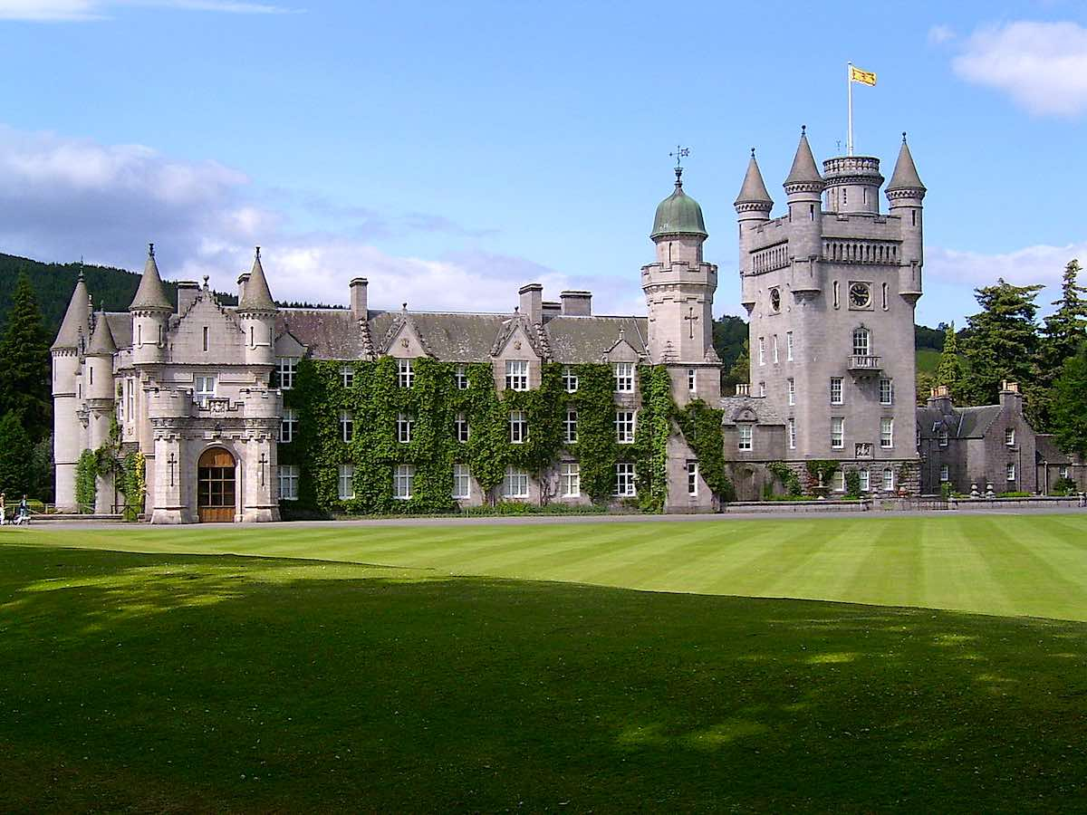 Castillo Balmoral, en Aberdeenshire, Escocia