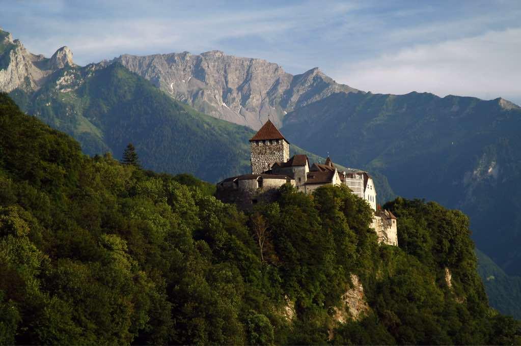Castillo de Vaduz | Las familias reales más ricas del mundo 2019