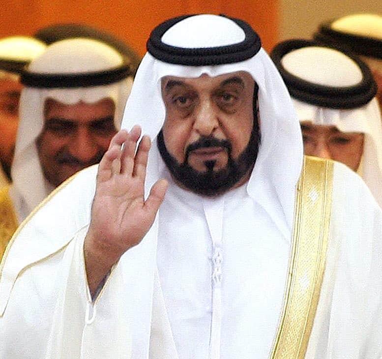 jeque Jalifa bin Zayed Al Nahayan