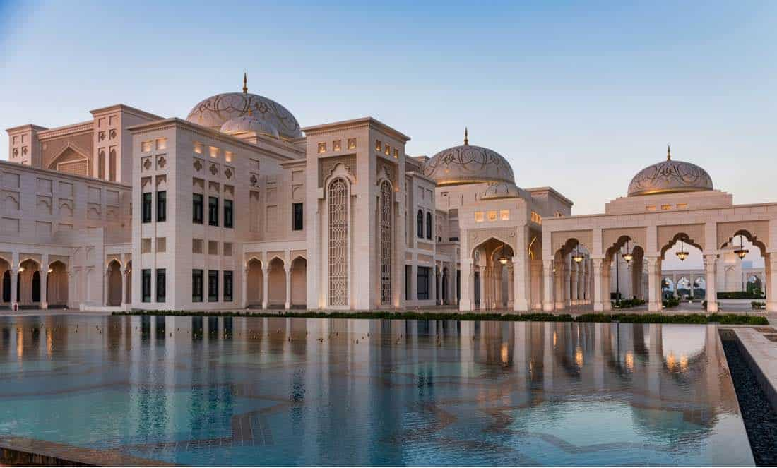Palacio Qasr Al Watan, Abu Dhabi, Emiratos Árabes Unidos