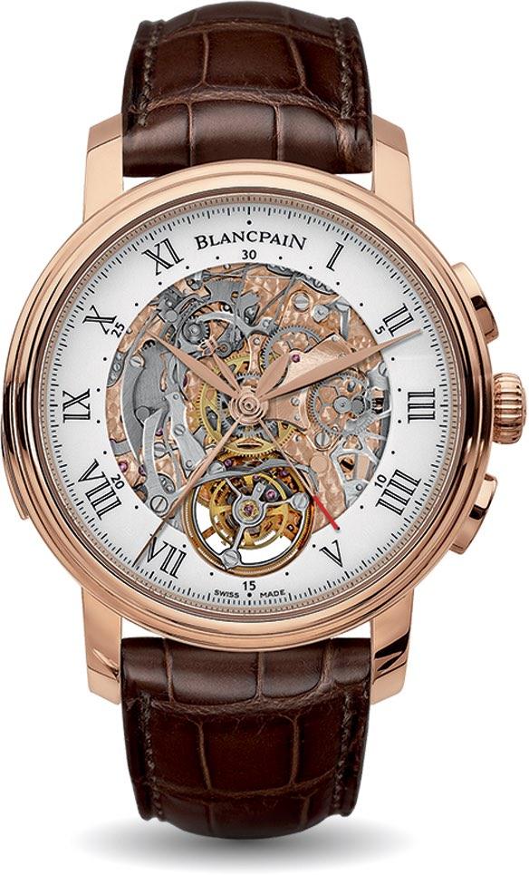Blancpain Villeret Carrousel: Costosos relojes de pulsera que los puedes comprar hoy.