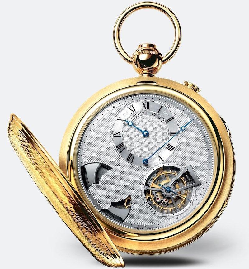 reloj de bolsillo Breguet Classique 'Grande Complication' en oro amarillo