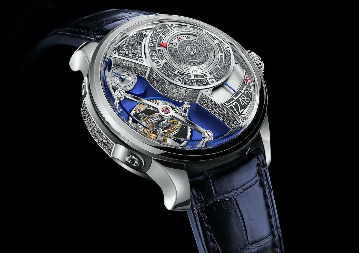 Greubel Forsey: Costosos relojes de pulsera que los puedes comprar hoy.